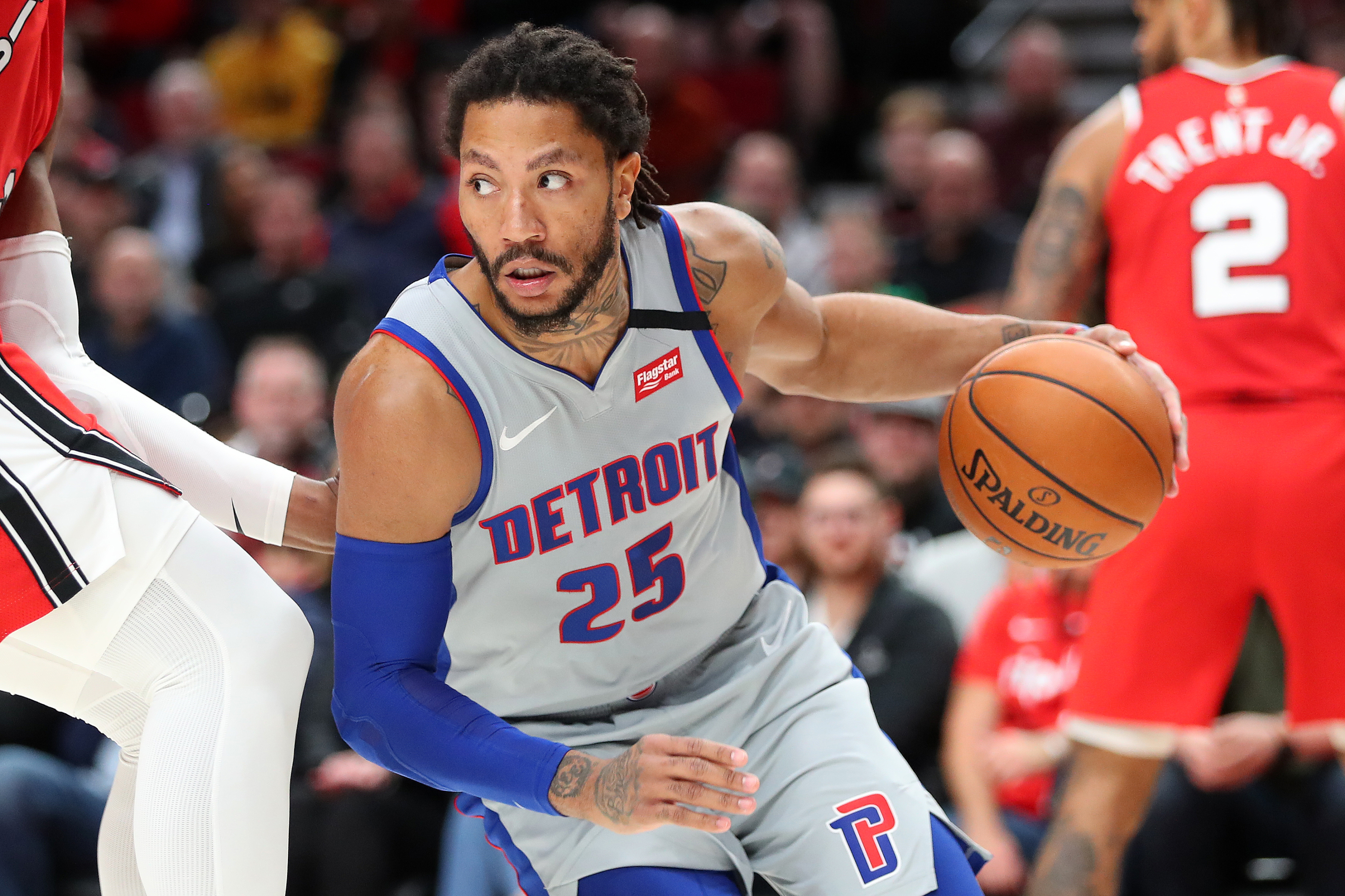 Detroit Pistons Derrick Rose