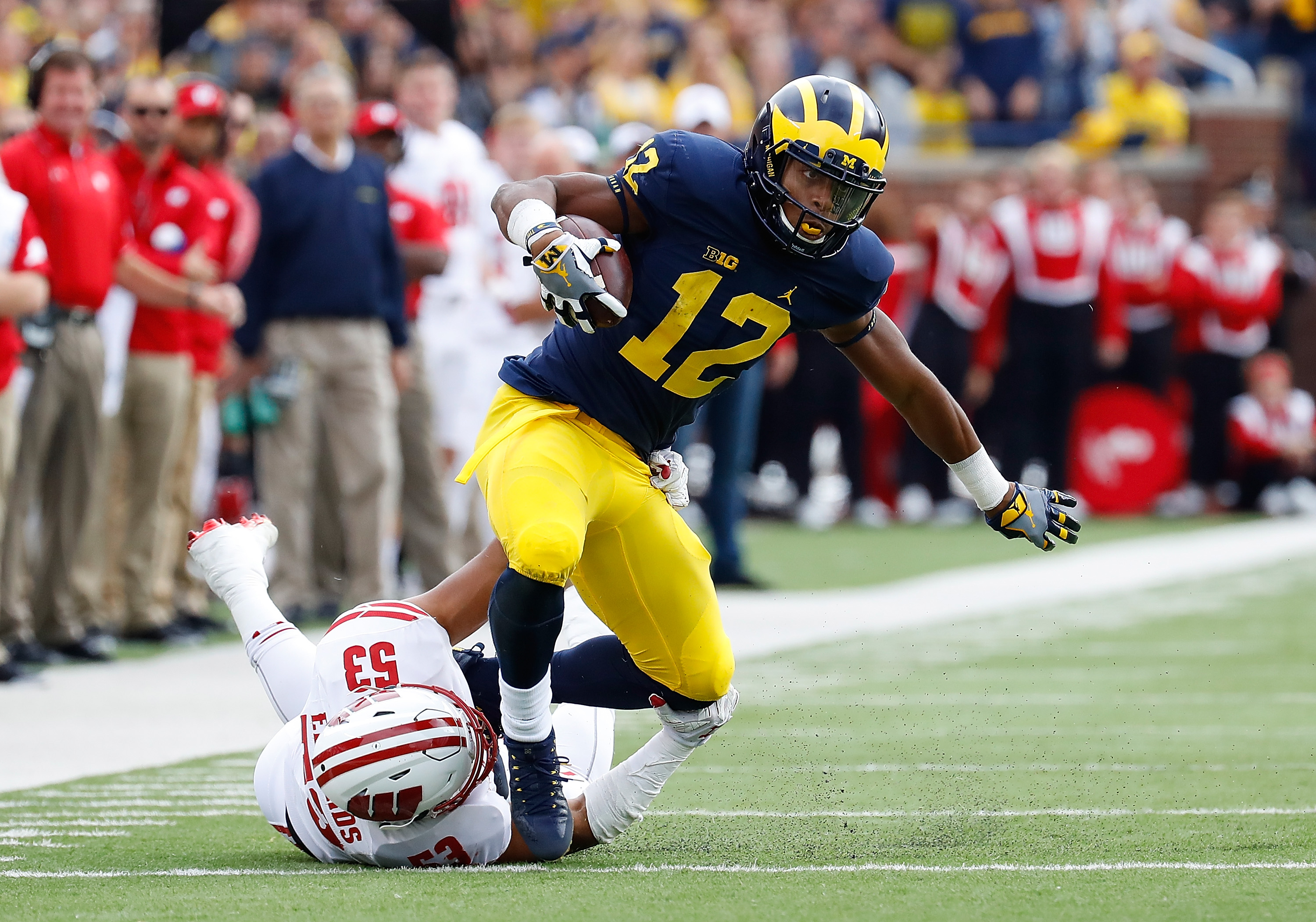 Michigan football at Wisconsin: Game time, TV, radio, live ...